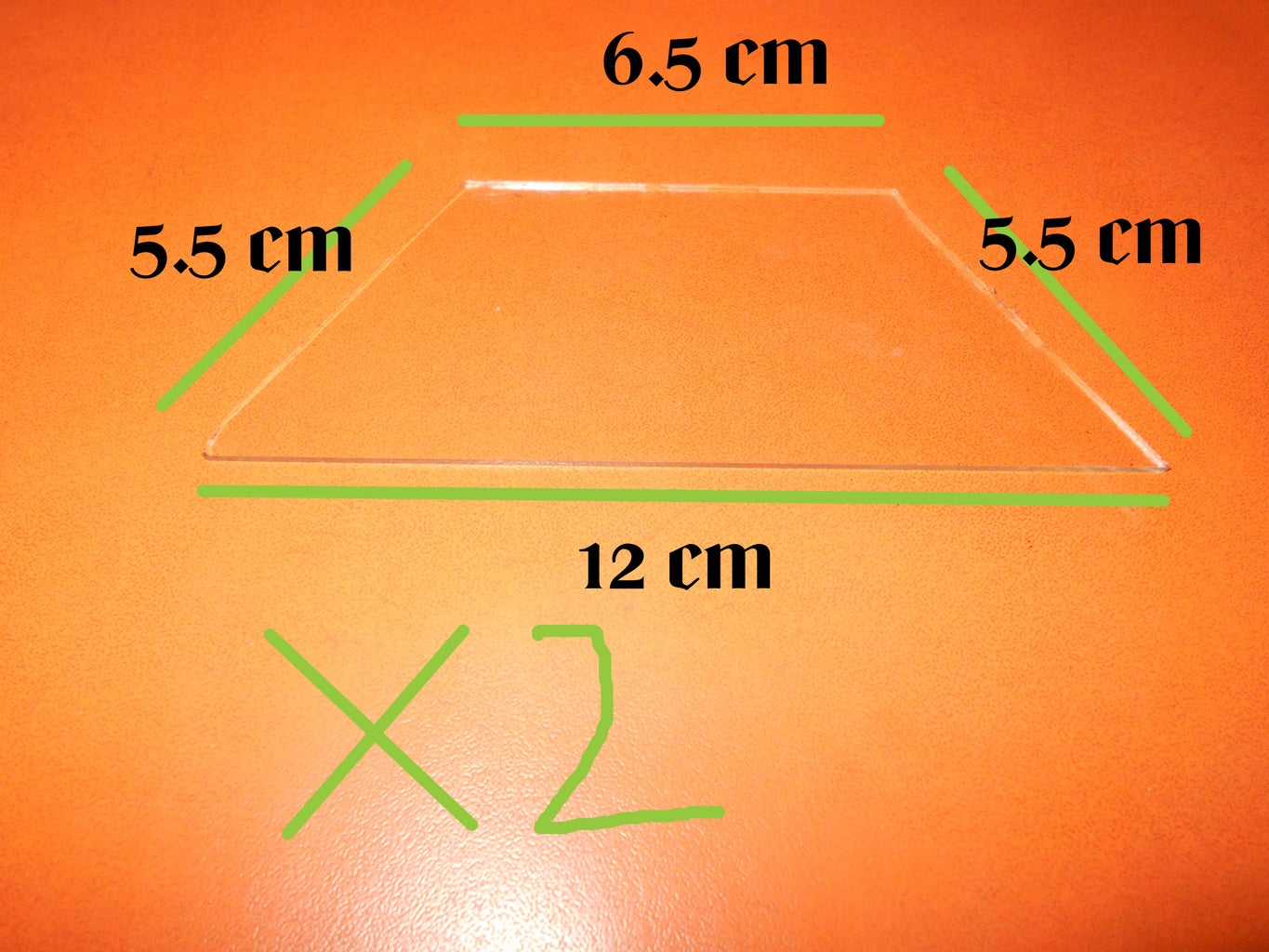 Gathering Glass According to Given Size