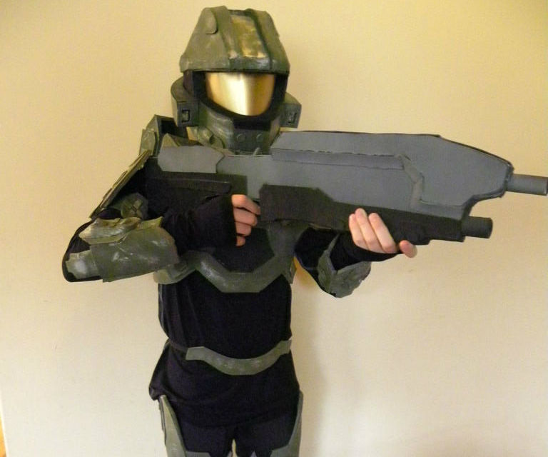 How to Make a Halo 4 Master Chief Costume