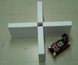 Autonomous Wall Hugging Arduino Vehicle