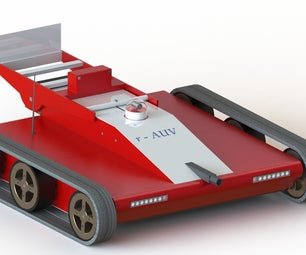 R - AUV (Robotic Autonomous Utility Vehicle)