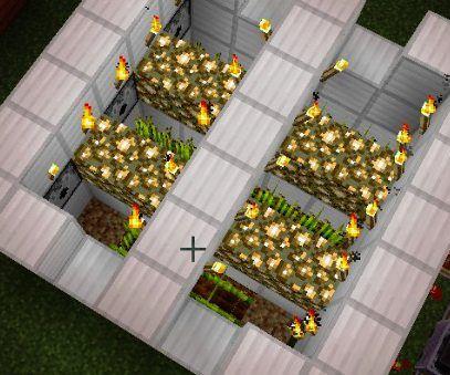 Minecraft Automatic farm