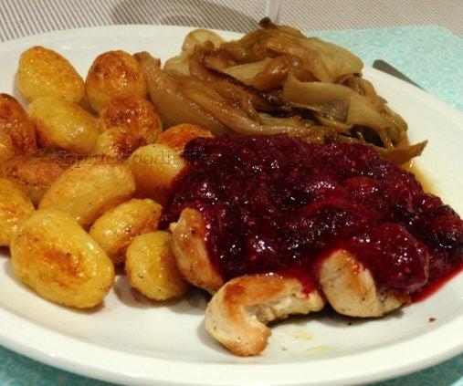 Cranberry Cinnamon Maple Sauce