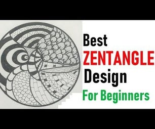 How to Draw Complex Zentangle Art for Beginners Learn