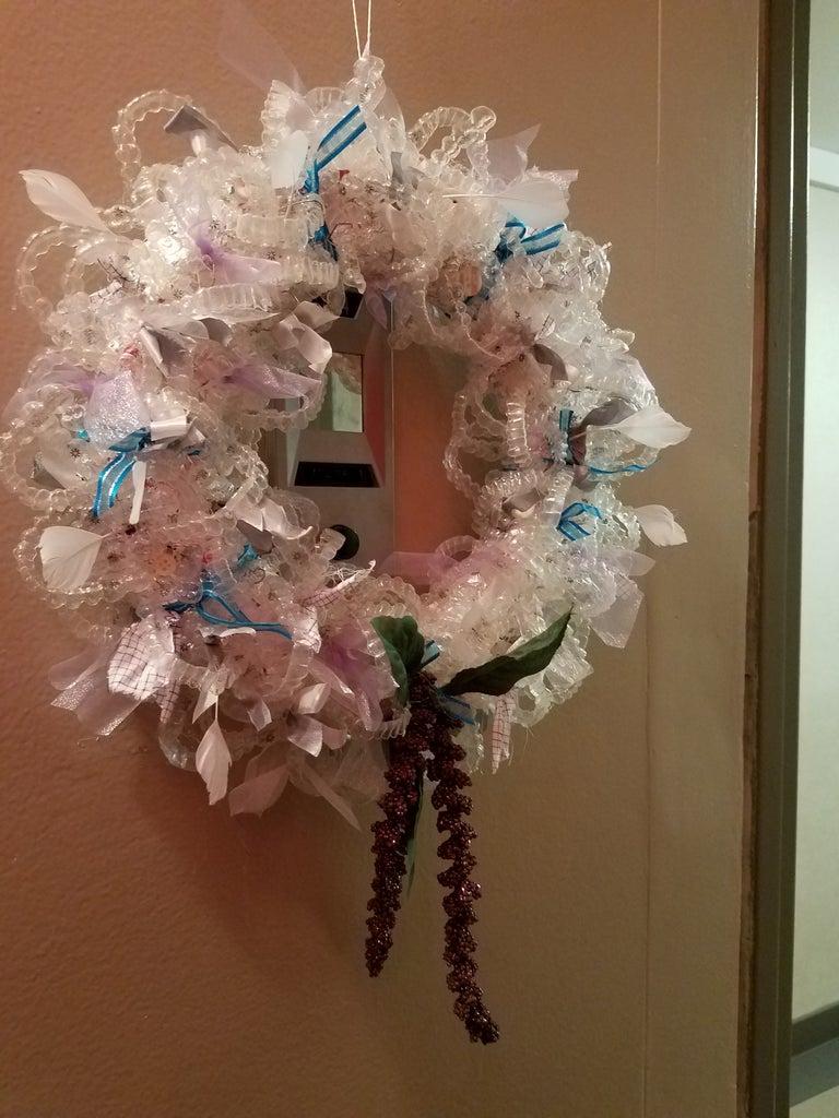 Invisalign Tray Holiday Wreath