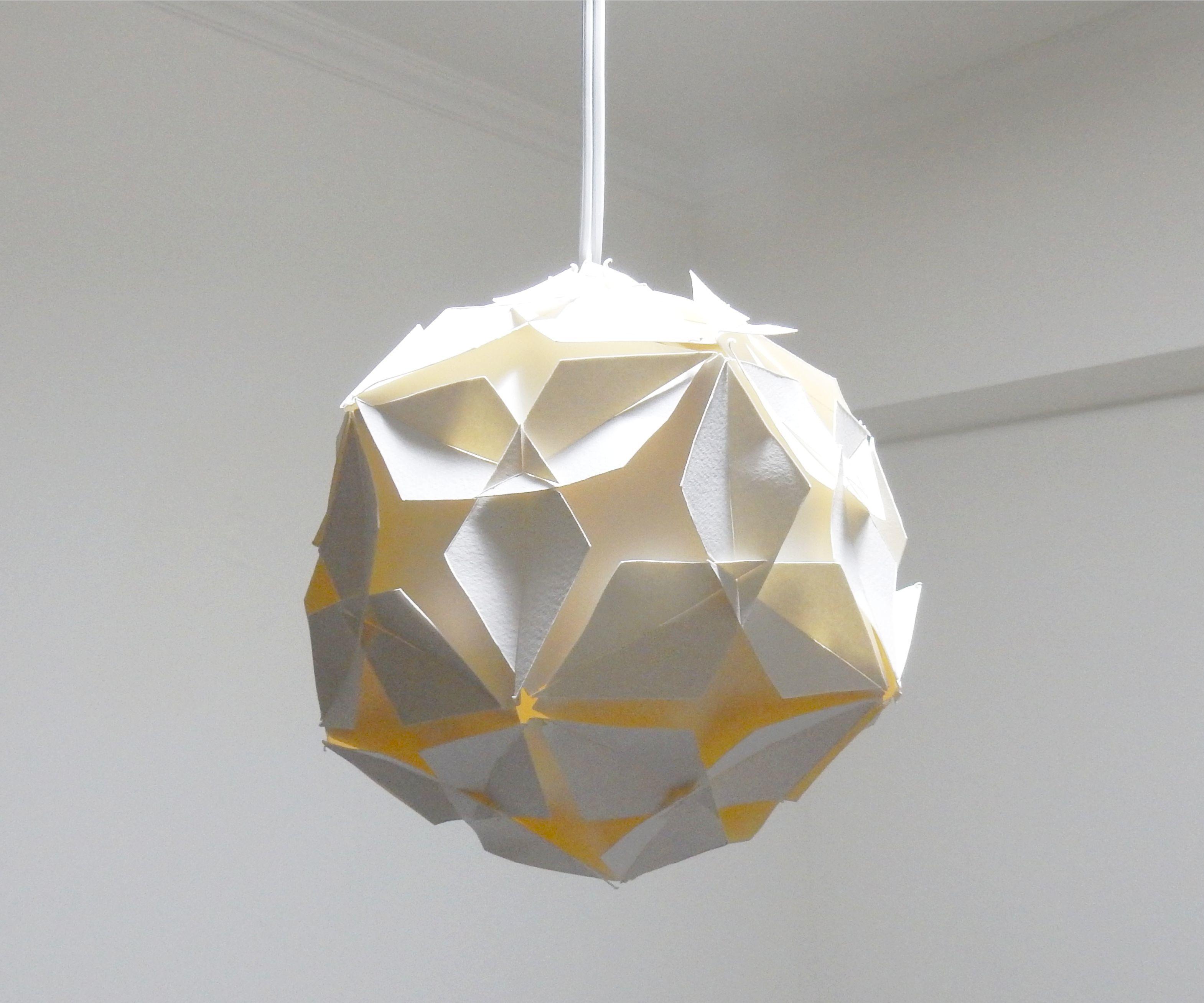 DIY lamp - Diamond ball