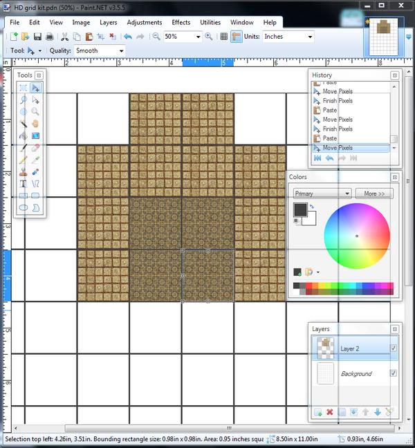 DIY Professional-quality D&D Maps