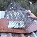 Drop Cage Bird Trap