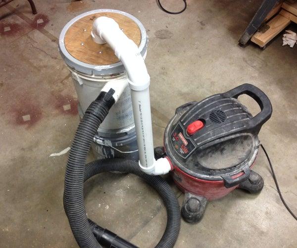 Homemade Dust Separator (video)