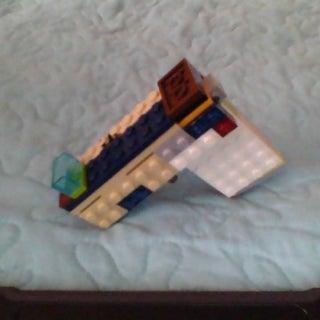Easy Lego Blowback Gun