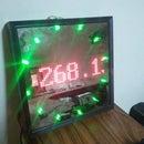 Real-time BitCoin Price monitor using LED Matrix, Arduino and 1Sheeld