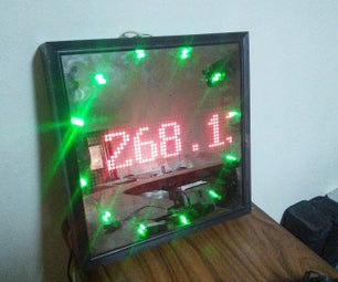 Real-time BitCoin Price Monitor Using LED Matrix, Arduino and 1Sheeld