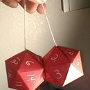 "20 Sided ""fuzzy"" Dice"