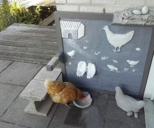 Several Methods to Use Cement to Make Concrete Chickens