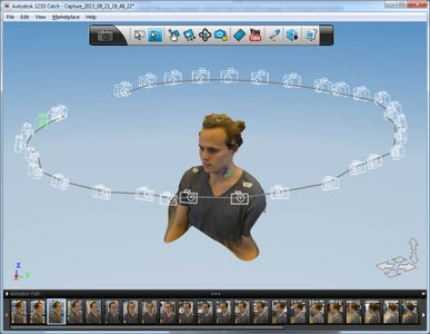 Create a 3D Model of Your Head Using 123D Catch