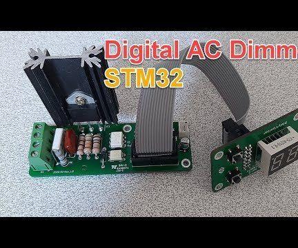 Powerful Digital AC Dimmer Using STM32