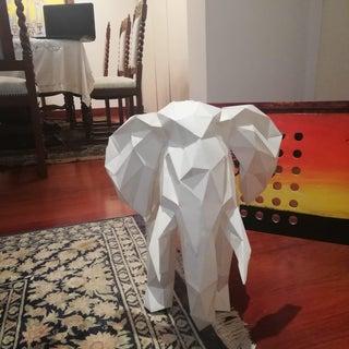 Low-Poly Paper Sculptures