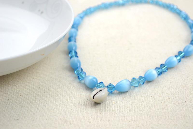 Handmade jewelry tutorial of Disney cartoon - DIY Pocahontas necklace