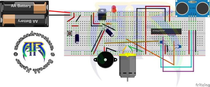 Circuit Diagram:-Without Arduino