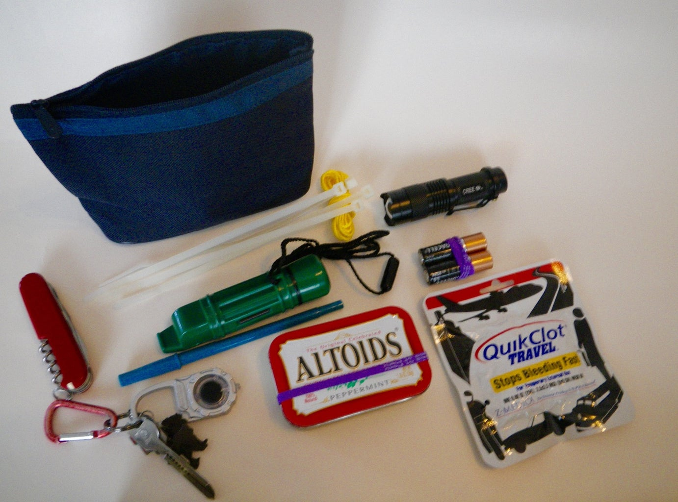 Compact Outdoors Emergency Pack