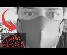 Sewed Leather Mask
