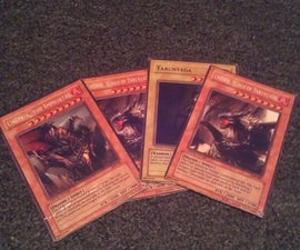 Making Your Own Yu-Gi-Oh Cards.
