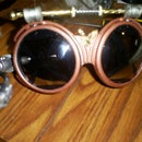 Airship Captains Steampunk Goggles
