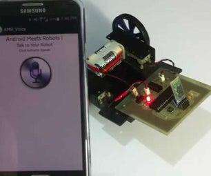 VOICE CONTROLLED ARDUINO ROBOT