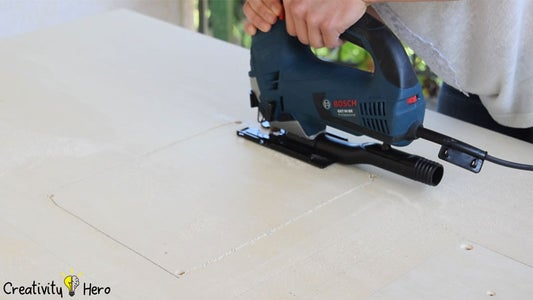 Turning the Circular Saw Into a Table Saw.