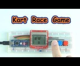 Kart Race Game Arduino