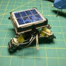 Solar Powered Robot from TRASH!!!!
