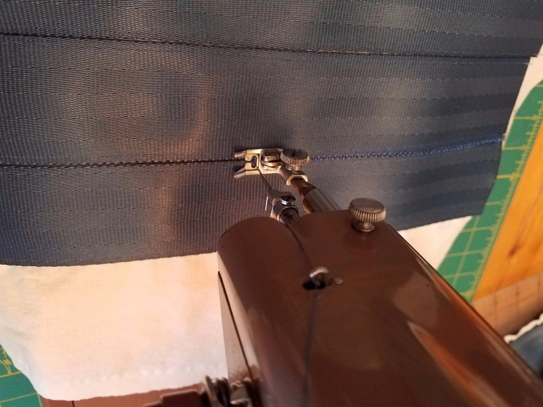 Sew Back of Bag