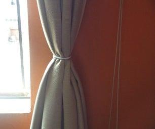 Curtain Hangers As Curtain Ties