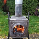 Tin Can Woodstove