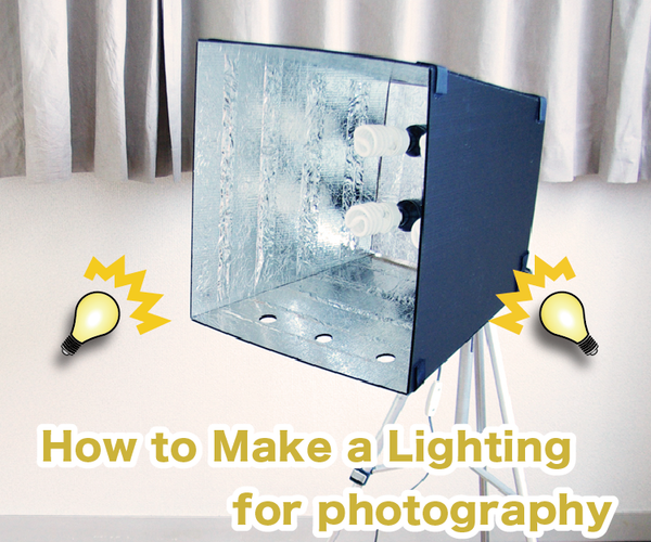 How to Make a Light for Photography