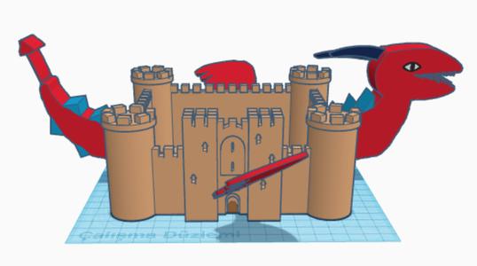 Myth Mashup With TinkerCad