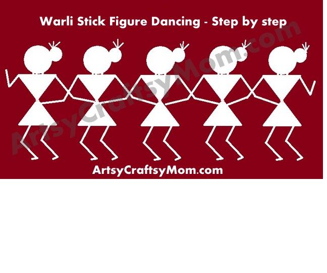 Dancing Women As Warli Art