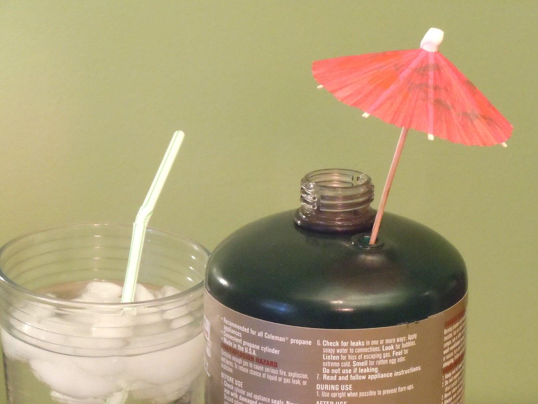 Built in Umbrella Holder