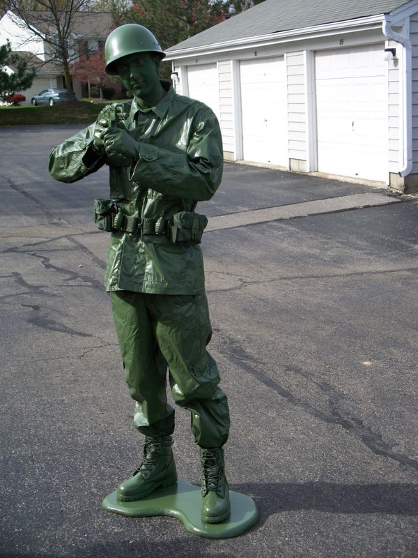 Make a Toy Soldier Halloween Costume for Less Than $50 (Or Cheaper!)
