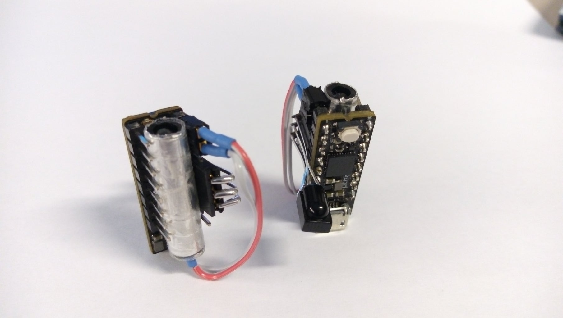 Shielding IR LED