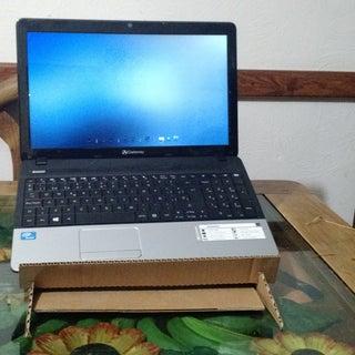 Laptop Stand With Hidden Organizer