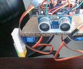 Cheap Beginner Quadruped Robot