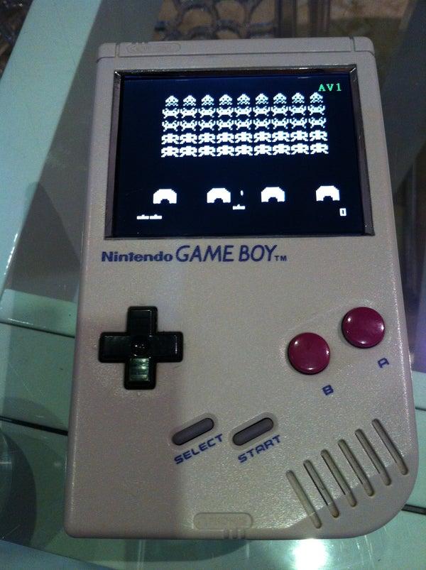 Gameboy Hack Into Hackvison ATMEGA Portable Video Game System