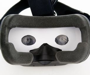 Anti Motion Sickness Cover for VR Headset (HTC Vive)