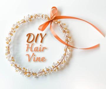 Hand Beaded Hair Vine