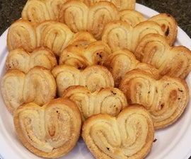 Classic French Palmiers
