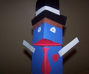 Milk Carton Puppet