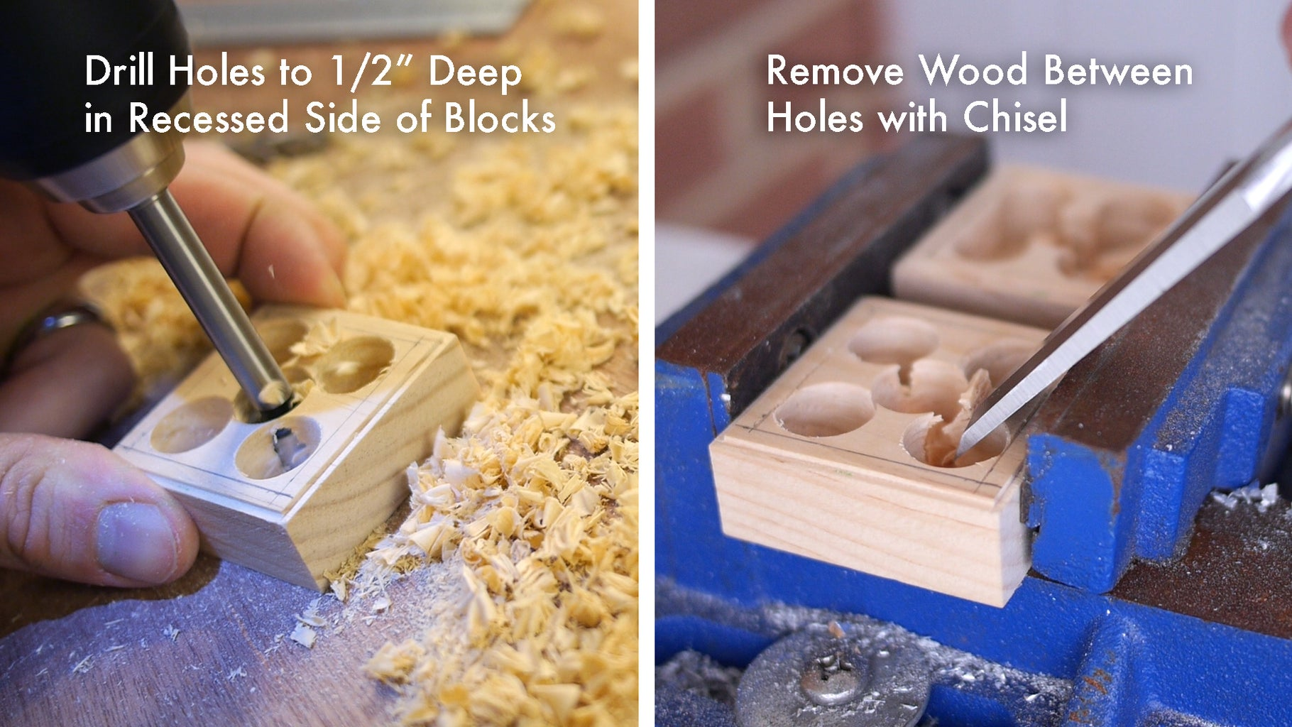 Create Cavities in Blocks