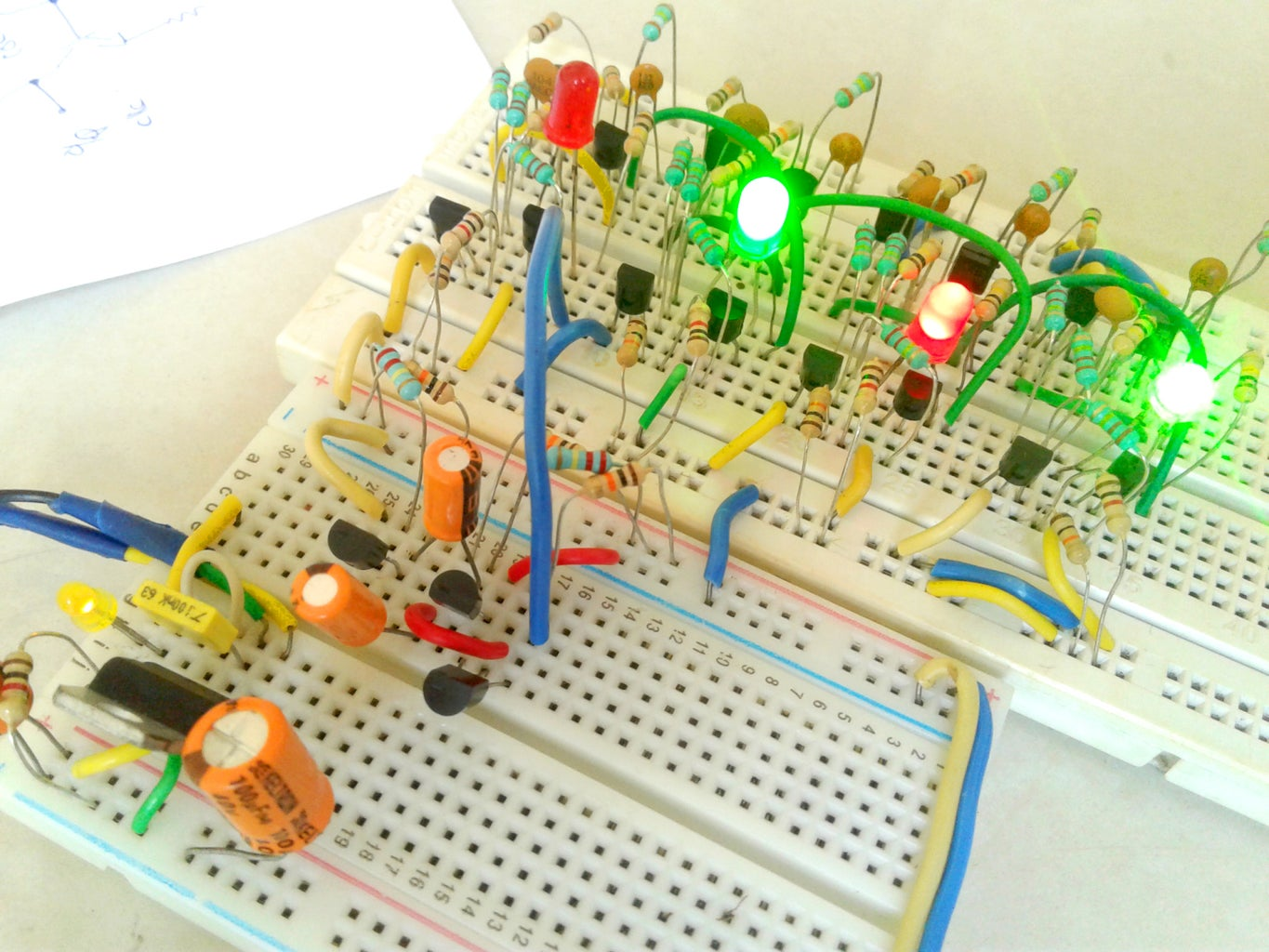 Connecting the Clock Circuit With Counter