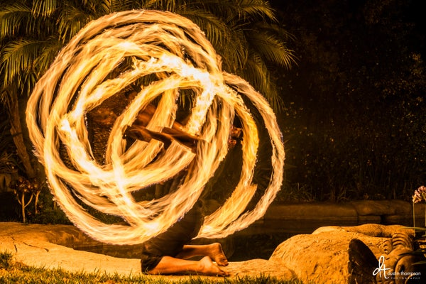 Episode 4: Light Painting - Part 1 - Steel Wool and Fire Poi