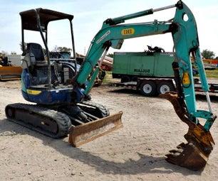 3 Tonne Excavator
